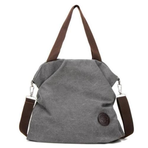 Casual Canvas Large Capacity Handbag Outdoor Shoulder Bag