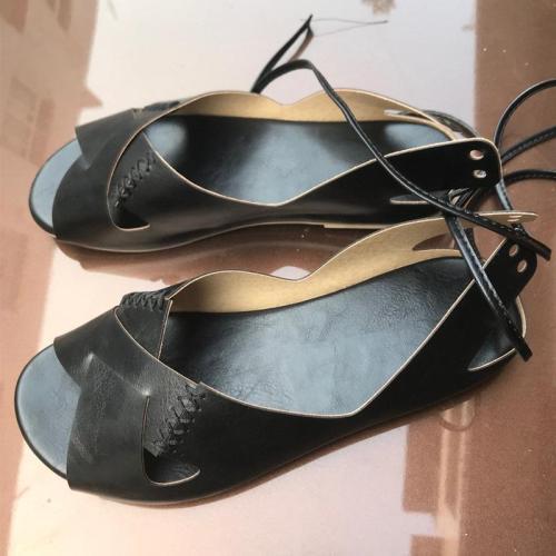 Roman Style Peep Toe Sandals