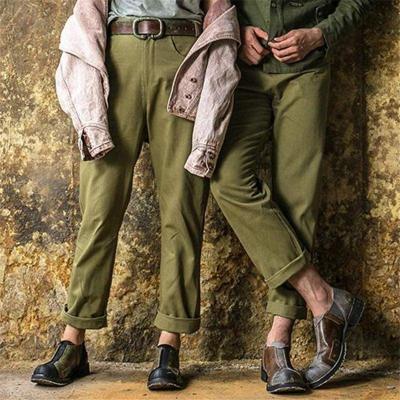 Men Vintage Slip-On Loafers