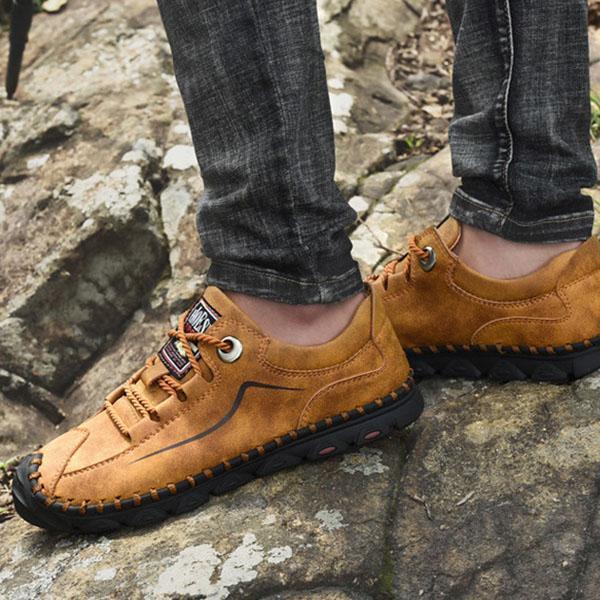 Mens Casual Fashion Soft Bottom Outdoor  Flats