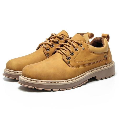 Casual Retro low help Martin   boots tooling shoes