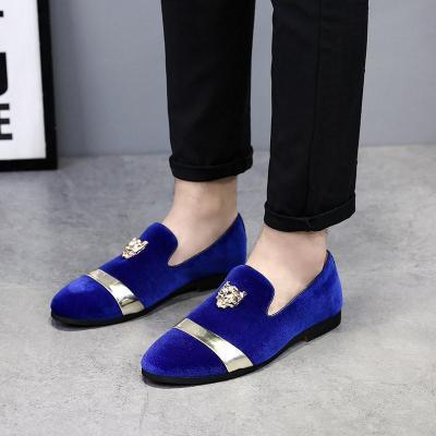 Men Velvet Casual Dress Shoes