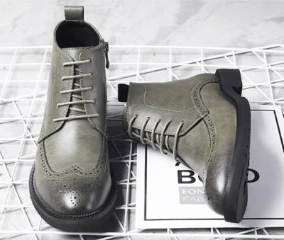 Casual Carve Patterns Martin Bullock Short Boots
