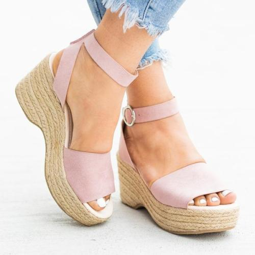 Women Elegant  Espadrille Wedges