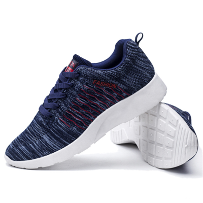 Men's casual flying woven breathable sneakers