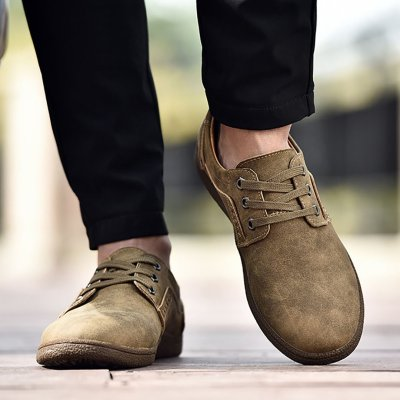 Retro Size Soft Bottom Casual Shoes