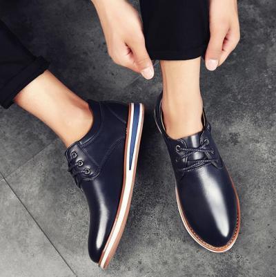 Men Casual Comfortable Lace-up Shoes