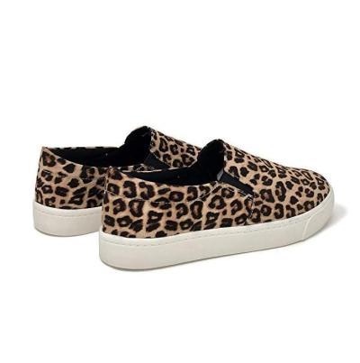 Women's PU Round Toe Flat Loafers