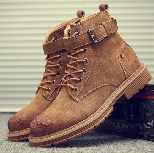 Vintage Wild High-Desert Desert Tooling Martin Men Boots