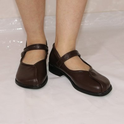 Vintage Sandals Summer Autumn Casual Shoes Elegant Female Low Heel Leather