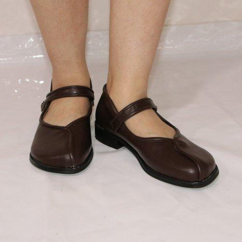 Vintage Sandals Summer Autumn Casual Shoes Elegant Female Low Heel Leather