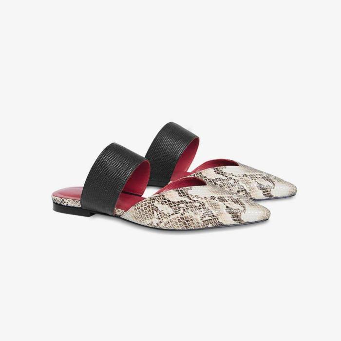 Elegant Slip-On Flat Slippers