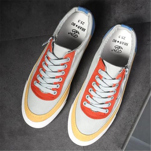 Canvas low cut breathable versatile casual shoes