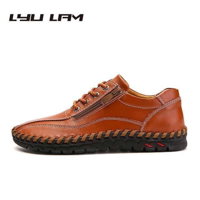 Men Leather Casual Loafers