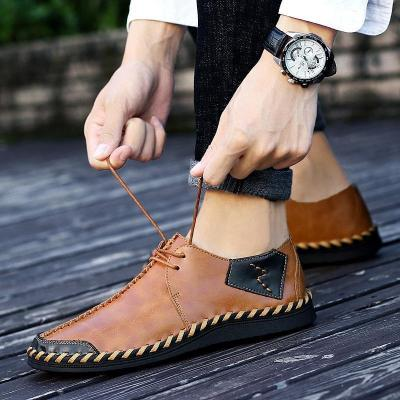 Mens Manual Stitching Shoes
