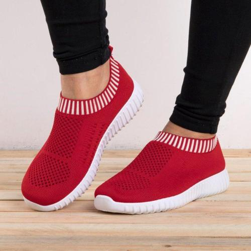 All Season Elastic Athletic Slip-On Sneakers