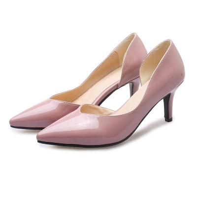 Spring/Summer Work Pointed Toe Stiletto Heel Shoes