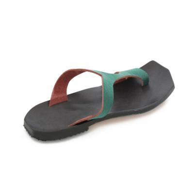 Women Vintage Slip-on Flip-Flops Flat Heel Pu Summer Sandals