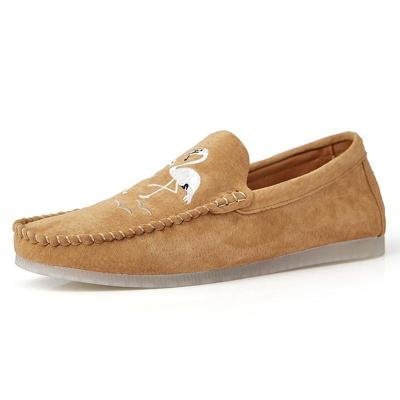 Microfiber Fabric Comfortable Casual Slip on Shoes
