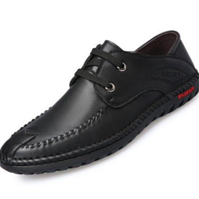 Men Casual Fashion Cowhide Leather Shoes