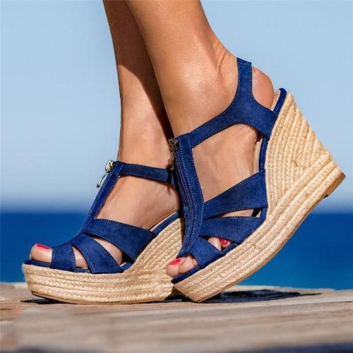 Wild Fashion Wedge Sandals