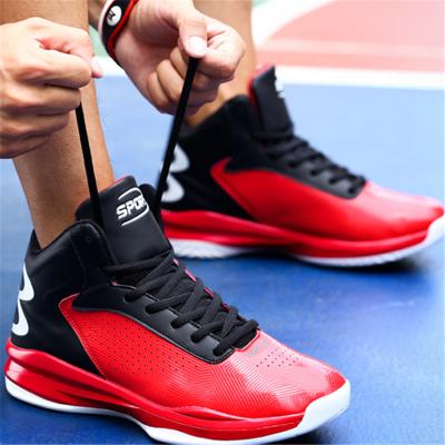 Men's wear-resistant shock-absorbing basketball shoes