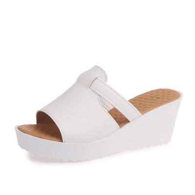Summer New Women's Slippers Round Head Fashion Anti-slip Ladies Women's Cool Slippers