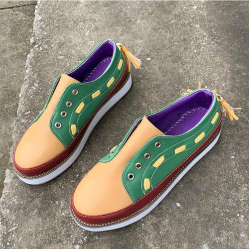 Multi-color Fashionable Low-boot Shoes