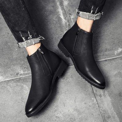 Men's Retro British Garment Casual Martin Men Boots