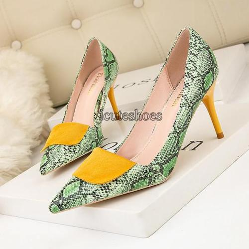 Fashion Simple High Heels Sexy Nightclub Shoes