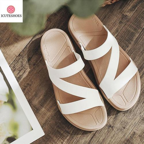 Sandals Slipper Indoor Outdoor Flip-flops Beach Shoes New Fashion Female