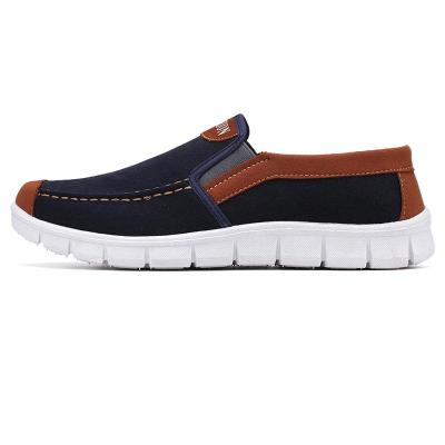 Mens Slip Resistant Slip On Soft Sole Casual Flats