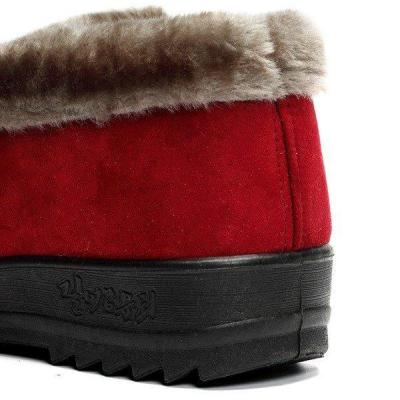 Suede Ankle Soft Warm Footwear Short Boots For Women