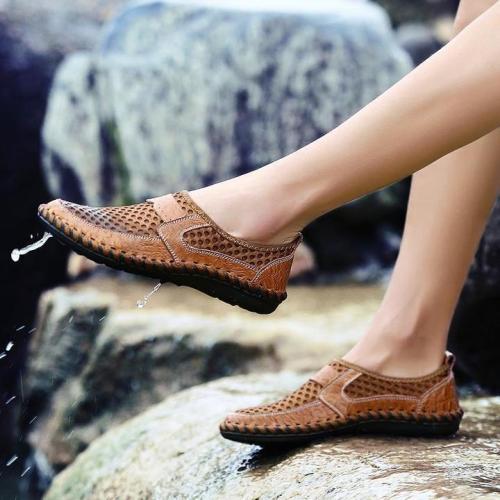 Men's Casual Mesh Breathable Slip-On Loafer