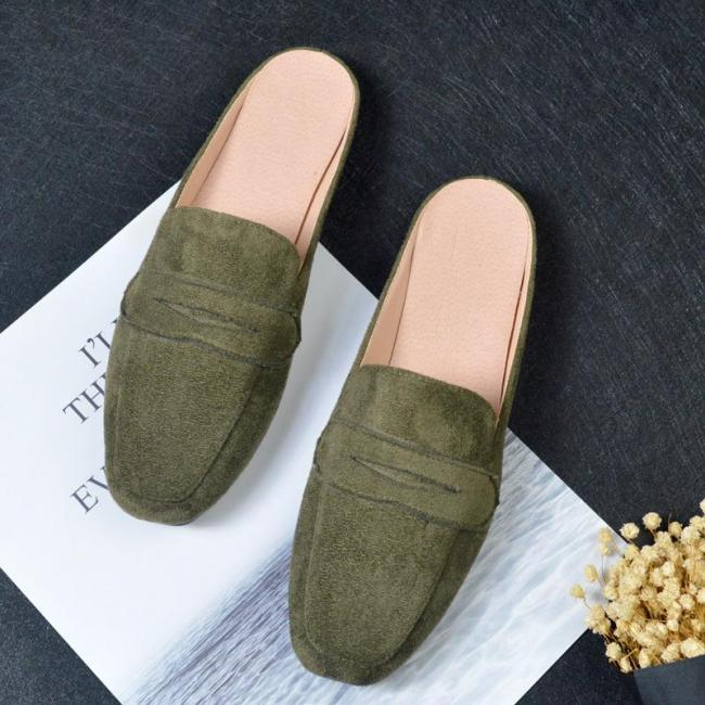 New Flat Slippers for Women's Casual Cozy Muller One Piece