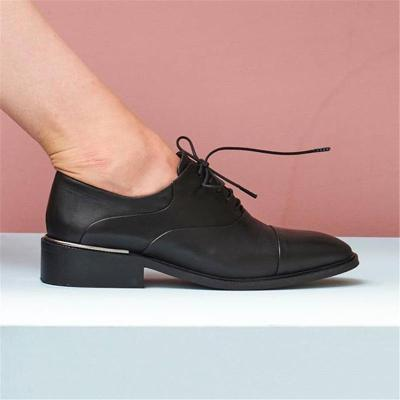 Spring comfortable low-heeled casual shoes