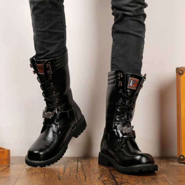 High-top men's boots combat boots military boots Martin boots