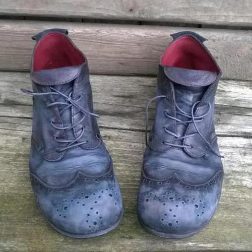 Vintage Brogue Handmade Leather Shoes