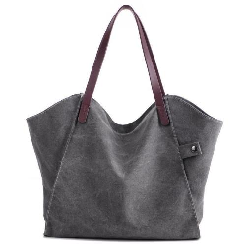 Large Capacity Women's Shoulder Canvas Bag Handbag