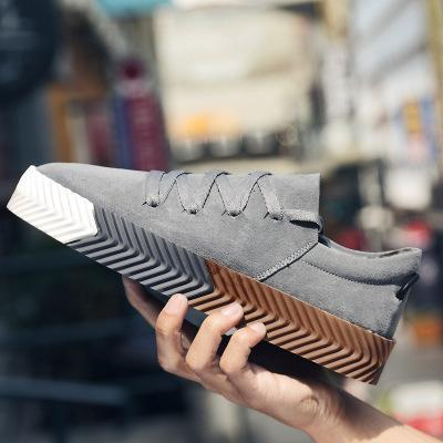 Mens Fashion Lace-up Athletic Shoes Casual Flats