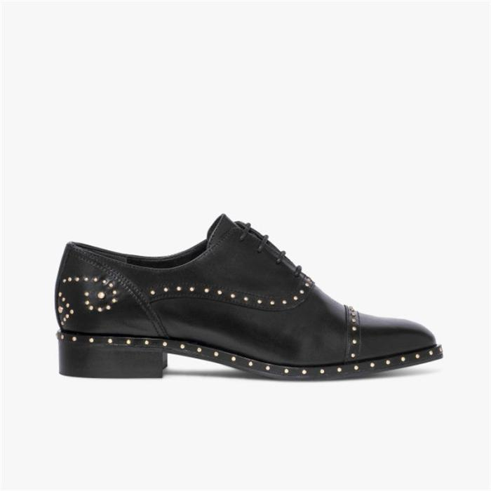 Studded Lace Up Sneakers