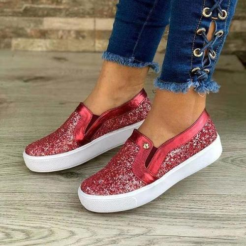 Fashion Casual Women's Slip-On Flats