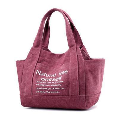 Canvas Outdoor Casual Handbag Shoulder Bag