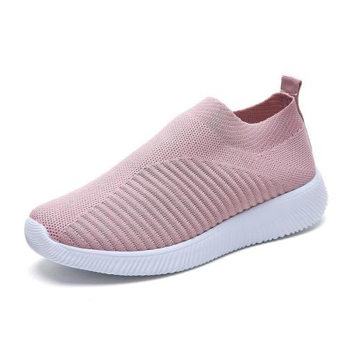 Women Non-slip Rubber Buttom Soft Slip-on Sneakers