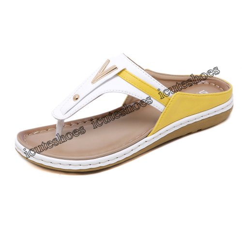 New Casual Women's Sandals Bohemian Resort Beach Slippers