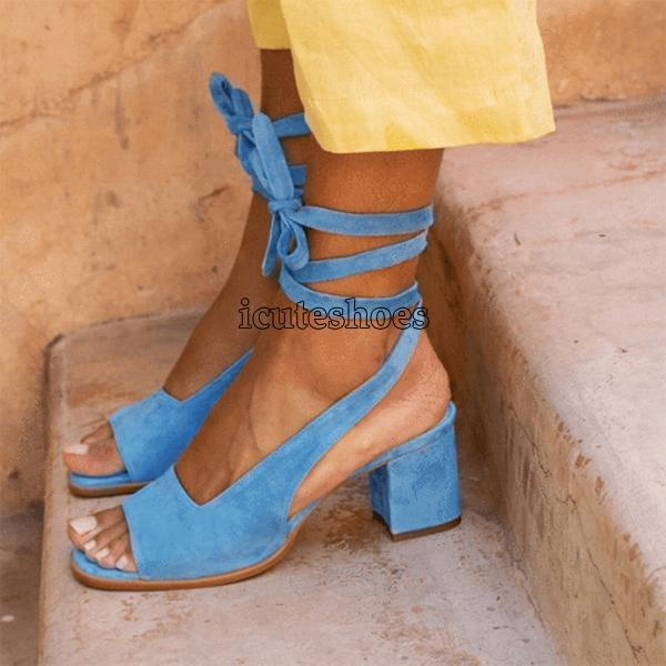 Ankle Strap Sandals Shoes Women Sexy Sandals Lady High Heels Cross Strap