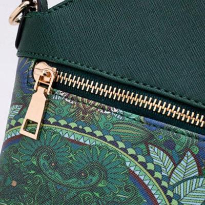 Bohemian Forest Series Bucket Crossbody Bag Print Phone Bag