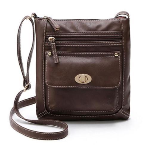 Women Vintage  Pu Leather Handbag
