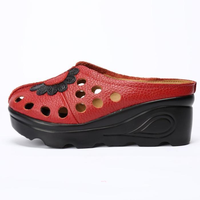 Women Summer Lady Slippers Wear Casual Bottom Flat Shoes