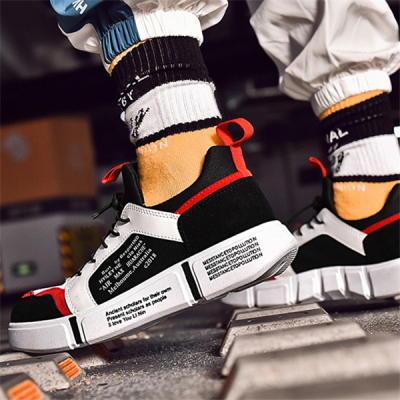 Men's Fashion Color Stitching   Breathable Men's Sneakers